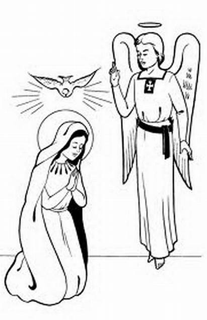 Conception Immaculate Coloring Pages Mother Feast Blessed