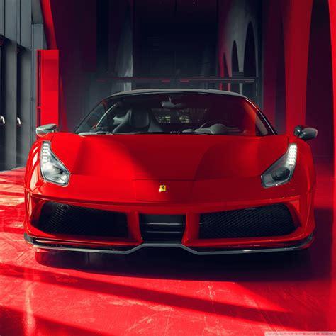 Cool Red Ferrari Car 2018 4k Hd Desktop Wallpaper For 4k
