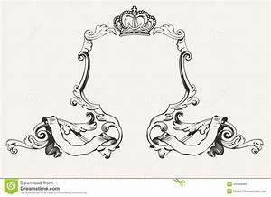 Bilder Mit Rahmen Modern : eleganter k niglicher rahmen mit krone stockfoto bild 29836680 ~ Bigdaddyawards.com Haus und Dekorationen