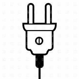Mains Plug Clipart