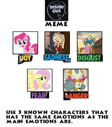 Inside Out Memes - inside out emotions meme by gilaw77 on deviantart