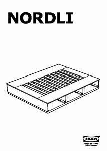 Cadre Lit Avec Rangement : nordli cadre lit avec rangement blanc ikea france ikeapedia ~ Teatrodelosmanantiales.com Idées de Décoration