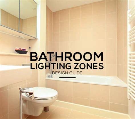 bathroom lighting zones explained ip ratings zones