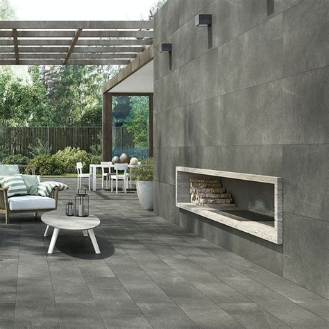 large outdoor patio tiles nuovocorso 7 stone these porcelain stoneware tiles are stone like not only in appearance but