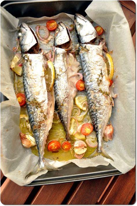 cuisiner le maquereau au four maquereaux au four et légumes grillés chez bergeou