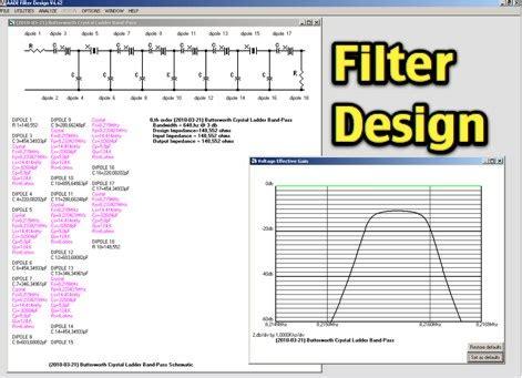 bandpass filter design bandpass filter interdigital bandpass filter design