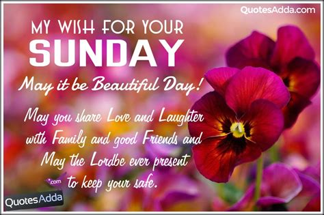 Sunday Morning Greetings Quotes