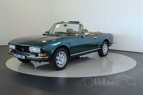 Peugeot 504 Cabriolet by Peugeot 504 Cabriolet 1976 For Sale At Erclassics