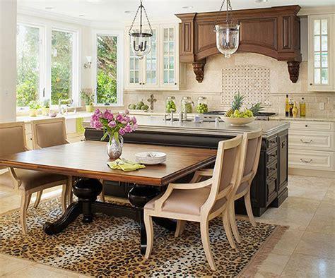 sur la table kitchen island ideas pr 225 cticas para tener un comedor en la cocina 8414