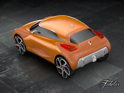 renault captur concept renault captur concept 3d model rigged max cgtrader com