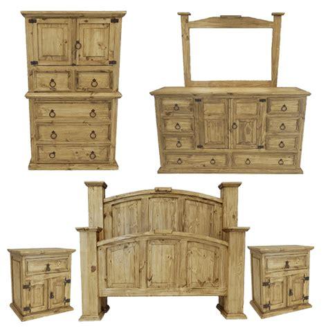 Rustic Mansion Bedroom Set, Rustic Bedroom Set, Rustic