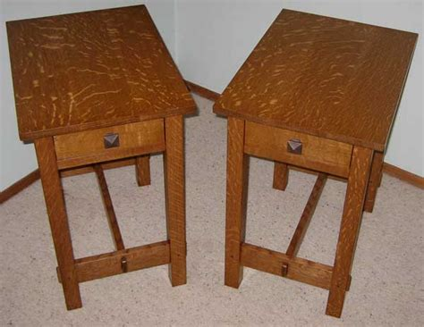 arts and crafts table ls arts crafts end tables woodworking blog videos