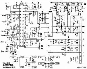 Monitor Video Amplifier - Amplifier Circuit - Circuit Diagram