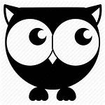Owl Icon Cartoon Avatar Bird Emoticon Icons