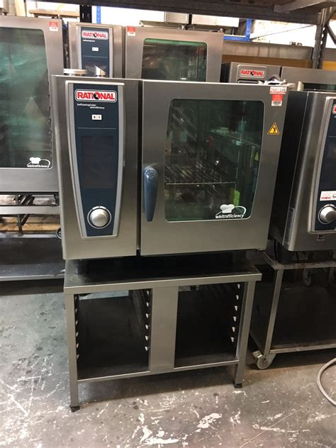Rational Scc 61 Rational Scc 61 We 6 Grid Electric Oven 3 Phase 2013 Model Used Rational Catering Equipment