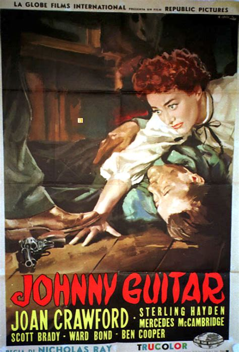 johnny guitar  poster johnny guitar  poster