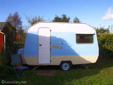 my little vintage caravan project the makeover so far