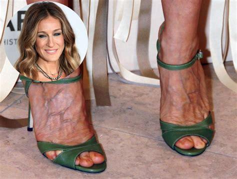 pictures celebrities  hate high heels sarah jessica