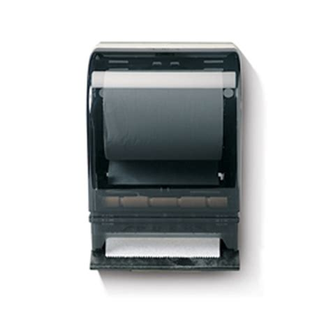 designer push bar roll towel dispenser kruger products
