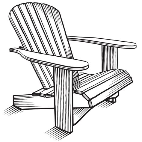 pdf how to draw an adirondack chair plans free