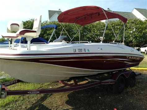 Used Fish And Ski Boats Minnesota by Used Ski And Fish Tahoe Boats For Sale Boats
