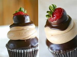 10 Great Recipes for Chocolate Covered Strawberry Cupcakes ...