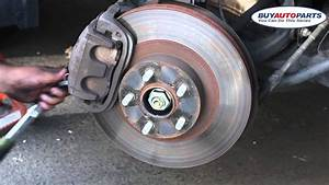 How To Change Brake Pads And Replace Rotors