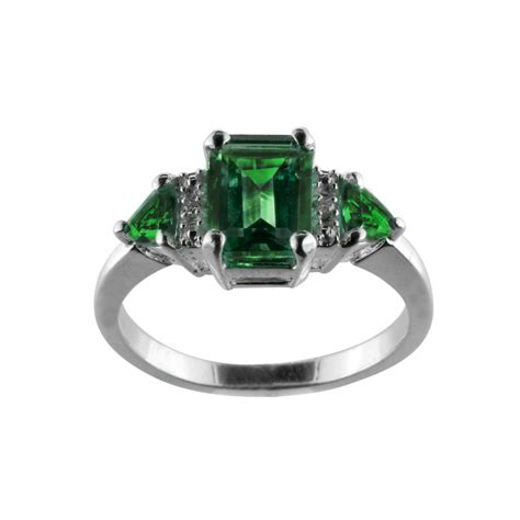 Lab Created Emerald And Diamond Accent Ring Sterling. Male Emerald. Kimberly Emerald. Hand Emerald. May August Birthstone Emerald. Cut Engagement Emerald. Grade Emerald. Colour Emerald. Sentimental Emerald