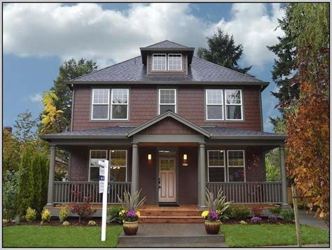 stunning exterior paint combinations for homes mid century