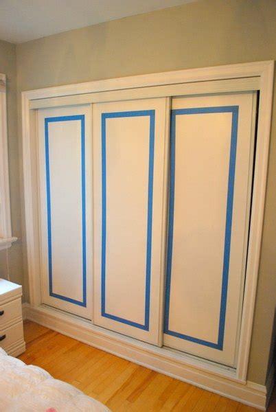 hometalk   paint faux trim  closet doors