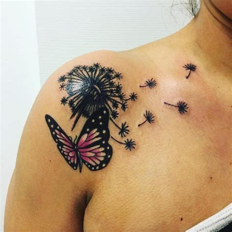 image result  dandelion  butterfly tattoo tattoos