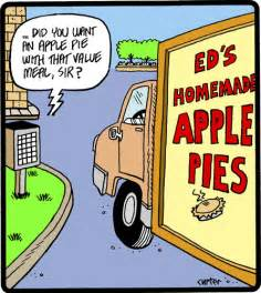 Apple Pie Funny Cartoons
