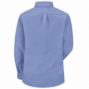 SR71LB Long Sleeve Women's Light Blue Executive Button ...