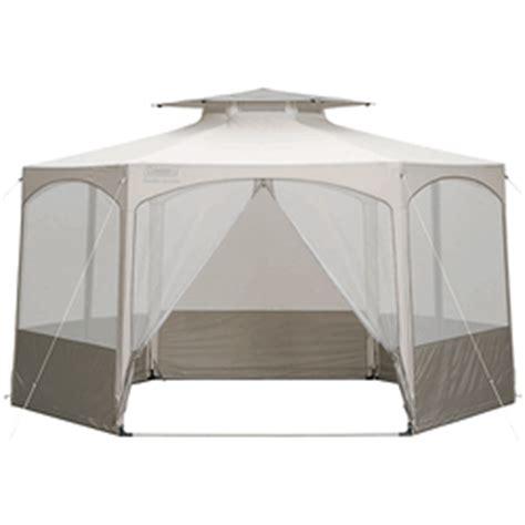 coleman garden gazebo shelter tent canopy hutshopcom