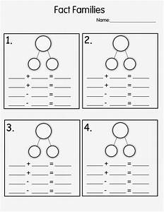 Number Family Worksheets for Kids Activity Shelter