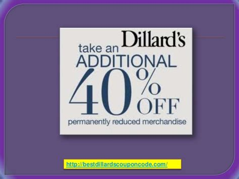 dillards coupons in store 2018