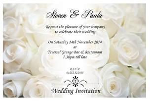 wedding invitation creator sle wedding invitation by email wedding invitations wedding invitation cards