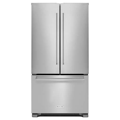 counter depth refrigerator dimensions kitchenaid kitchenaid krfc302ess 22 cu ft counter depth door