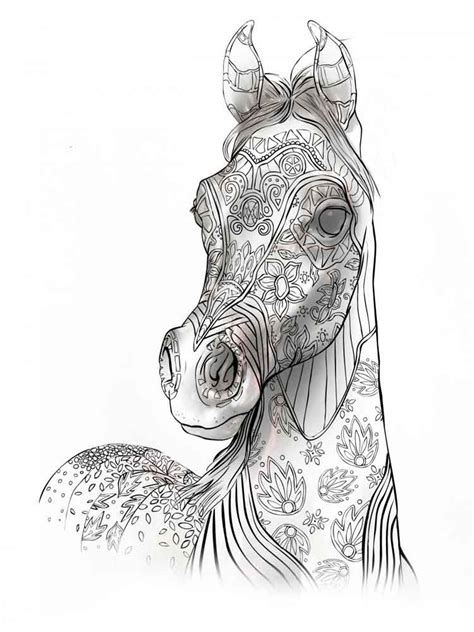 animals coloring pages  adults  printable animals coloring pages