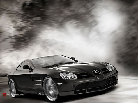 Pictures Of Beautiful Black Mercedes Benz Car Wallpaper