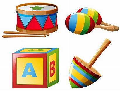 Instruments Musical Toys Toy Vector Clipart Graphics