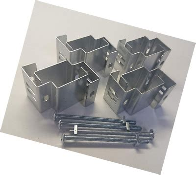 postfix slotted concrete fence post brackets fit