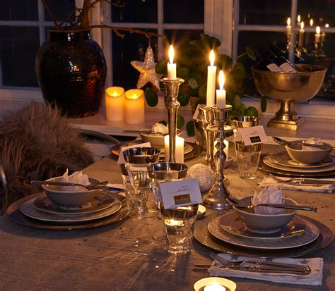 New Year Dinner Table Setting Easy Ideas For New