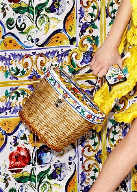 dolcegabbana majolica accessories collection tom