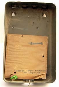 Mem 4 Way Enclosed Grey Metal Fuse Box  2