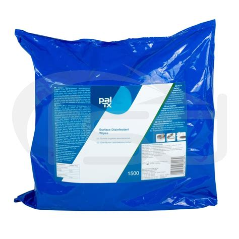 Pal TX Surface Disinfectant Wipes - Refill Pack - 1500