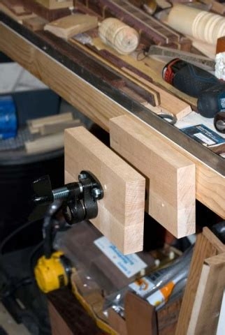 pipe clamp vise  bench woodworking talk woodworkers