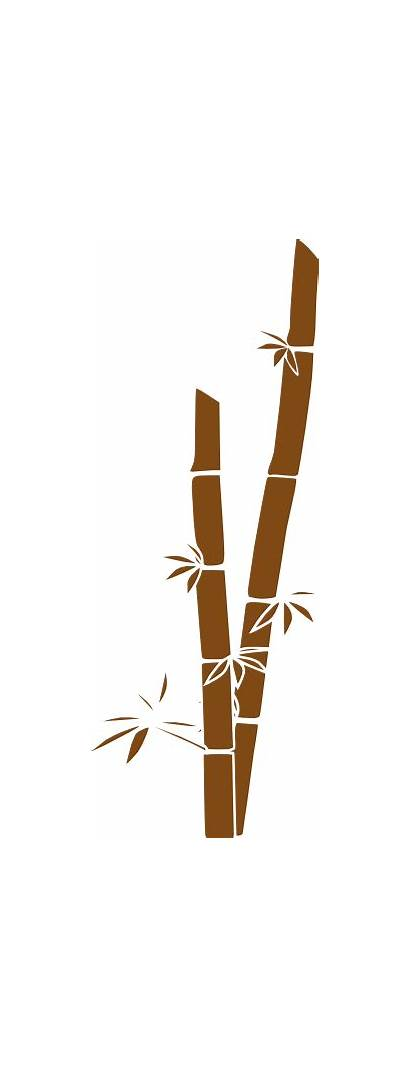 Brown Bamboo Clip Clker Clipart