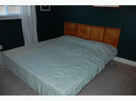 california king bookcase headboard waterbed for sale cal king bookcase headboard pine