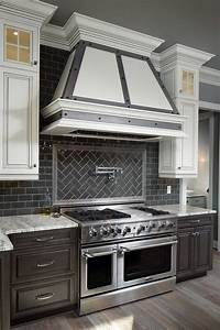 25 best ideas about two toned kitchen on pinterest two With two reasons subway tile backsplash best choice